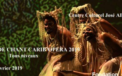 Académie de chant CARIB'OPERA 2019